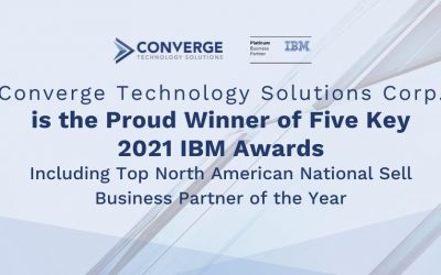 Converge Technology Solutions Corp. Wins Five IBM Awards Including Top North America National Sell Business Partner of the Year
